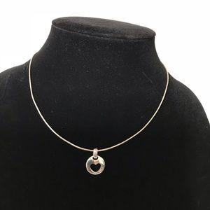 Tiffany &Co Heart Stencil Necklace